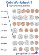 Coin worksheet 3