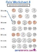 Coin worksheet 4