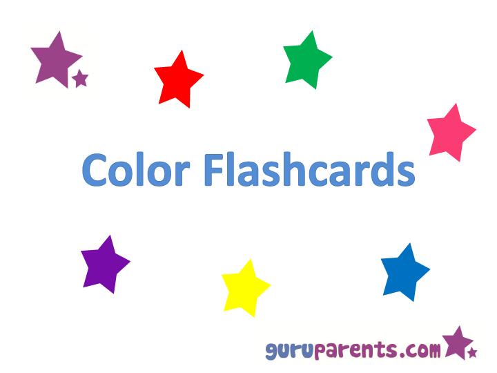 Color Flashcards Guruparents
