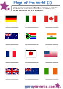 Flag First Worksheet