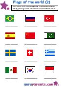 Flag-Second-Worksheet