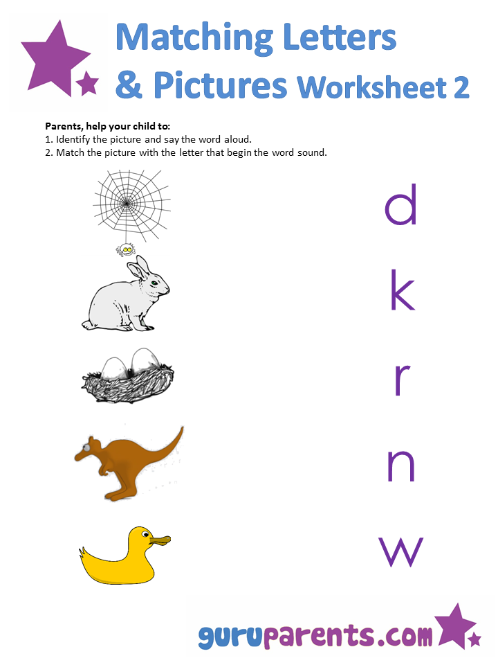 letters worksheets  u00bb matching upper and lowercase letters worksheets