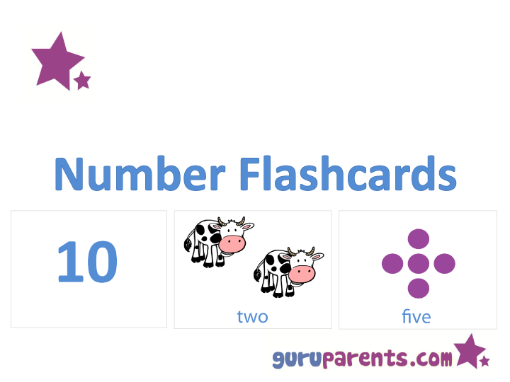 photo relating to Printable Number Flashcards identify Selection Flashcards guruparents