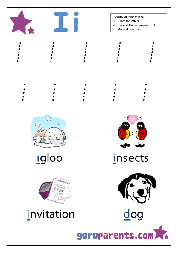 Preschool Worksheets | guruparents