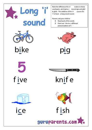 Number Names Worksheets short i sound worksheets : Letter I Worksheets | guruparents