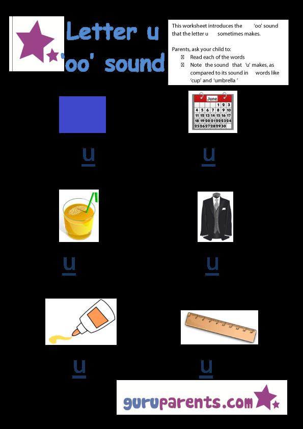 Kindergarten Worksheets | guruparents