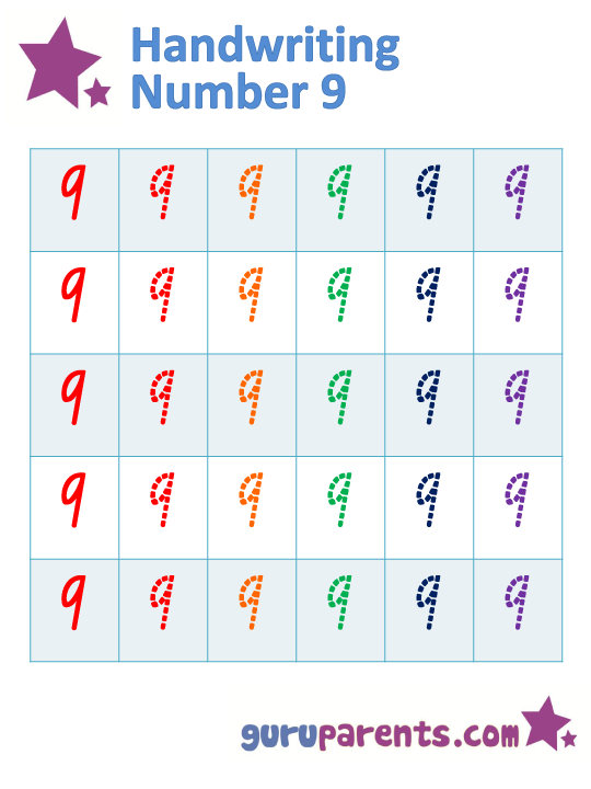Handwriting Worksheets – Practice Writing Numbers Worksheets