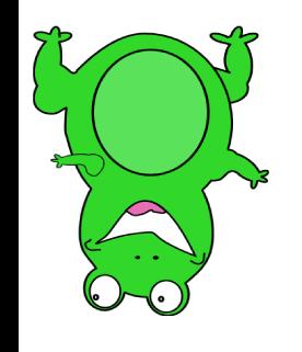Upside Down Frog